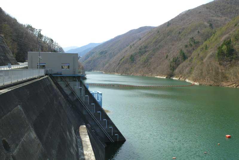 奈良井ダム~奈良井宿へ